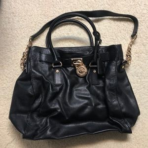 Michael Kors black bag with dust bag